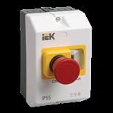 Защитная оболочка с кнопкой 'Стоп' IP54 ИЭК