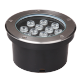 Светильник PGR R160 12w 4000K Сhrome грунтовый встраиваемый IP65 .5006560 JAZZWAY