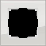 Рамка на 1 пост (дымчатый,стекло) / WL01-Frame-01_Favorit/  a030785