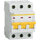 Выключатель ВА47-29 3п 16А х-ка C 4,5кА MVA20-3-016-C IEK