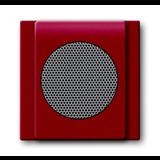 Плата центральная (накладка) для громкоговорителя 8223 U, серия impuls, цвет бордо/ежевика 8200-0-0117 ABB