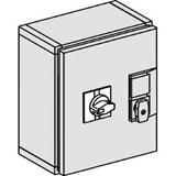 SE Compact INS/INV Герметичный металический шкаф IP55 INS250 с выносной рукояткой