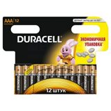 Элемент питания AAA алкалин Duracell LR03-12BL BASIC (12шт в упаковке)