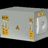 Ящик с понижающим трансформатором ЯТП-0,25 220/24-3 36 УХЛ4 IP30 (ИЭК)