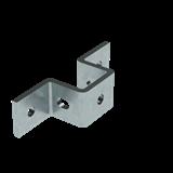 Крепление стеновое для С-образного профиля 41х41, горячеоцинкованное BMD1051HDZ ДКС