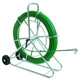 Устройство для протяжки кабеля FIX, вертикальное, с колесами, 100 м