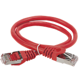 ITK Коммутационный шнур патч-корд , кат.5Е FTP, 3м, красный PC04-C5EF-3M IEK