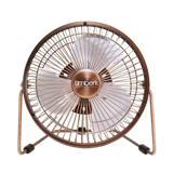 Вентилятор настольный Timberk TEF F6 FN5 (USB, d=143мм) бронза