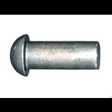 Tech-Krep Заклепка алюминиевая с полукгруглой головой  6х10 ГОСТ 10299-80 (10 шт)- пакет
