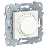 Светорегулятор LED повор-наж, универсальный 5-200Вт, Белый / UNICA NEW / NU551418