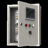Щит управления освещением DALI 400х500х220 64 устройства IP54 серый IEK