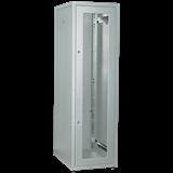 IEK ITK Шкаф LINEA E 33U 600х800мм двери 2шт стеклянные и металлические серый