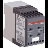 Реле контроля сопротивления изоляции CM-IWN.1S (1-200кОм) Uизм=400В AC/600В DC, 2ПК, емкость системы 20 мкФ, винтовые клеммы 1SVR750660R0200 ABB