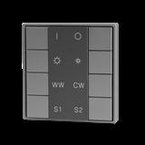 VARTON Кнопочная панель (1 группа), ССТ контроль, пластиковый корпус, серый