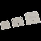 Заглушка для ЗНИ-16мм2 (JXB70A)серый ИЭК YZN10D-ZGL-016-K03