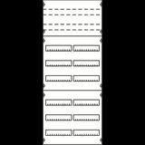 Панель для модульных уст-в 2ряда/8реек 2V43KA ABB