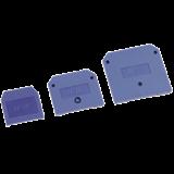 Заглушка для ЗНИ-35мм2 (JXB125A)синий ИЭК YZN10D-ZGL-035-K07