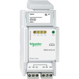 SE Merten KNX Бинарный вход 4-канальный сканирующий DIN-рейка