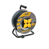 Удлинитель на катушке Professional 4-х местный 3x1.5мм2 40м WKP16-16-04-40-44 IEK