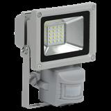 IEK Прожектор СДО 05-10Д(детектор)светодиодный серый SMD IP44