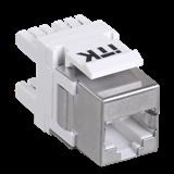 ITK Модуль Keystone Jack кат. 6 FTP без инстр. 180 град.
