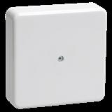 Коробка КМ41212-01 распаячная для о/п 75x75x20мм белая (с контакт.группой)