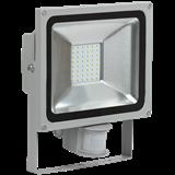 IEK Прожектор СДО 05-30Д (детектор) светодиодный серый SMD IP44