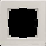 Рамка на 1 пост (слоновая кость) / WL04-Frame-01-ivory_Stark  /a028941
