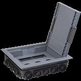 Лючок ONFLOOR 16 модулей (8 ЭУИ 45x45) KNL-80-16-7012