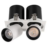 Светильник LGD-PULL-S100x200-2x10W Warm3000 WH, 20 deg 026194 Arlight