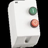 Контактор КМИ-11260 12А в оболочке U=380В IP54 ИЭК реле РТИ-1316( 9-13А), кноп.