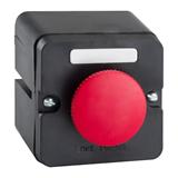 Пост кнопочный ПКЕ 212-1-У3-IP40- красный гриб , артикул 150745 КЭАЗ