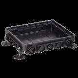 Коробка напольная ONFLOOR 16 модулей KNU-80-16-PA-9011