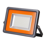 Прожектор светодиодный LED PFL-S2-SMD 100w IP65 Jazzway (плоский корпус, мат .стекло)