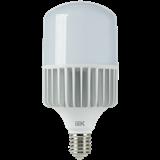Лампа LED E40 80Вт 6500K 7200Lm 220В цилиндр мат. HP LLE-HP-80-230-65-E40 IEK