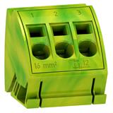 SE Prisma Pack Комплект блоков заземления с пружинными клеммами 3x16mm2 (4шт)