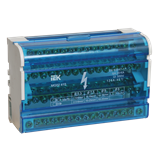 Кросс-модуль ШНК 125А 4х15 на DIN-рейку YND10-4-15-125 IEK