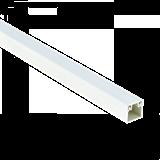 Кабель-канал PROxima 12х12мм белый kk-12-12 EKF