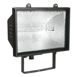Прожектор ИО-1500 галог.черн. IP 54 (ИЭК)