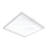 Светильник встраиваемый светодиодный LED A070 36Вт 6500K 595мм V1-A0-00070-01000-2003665 VARTON