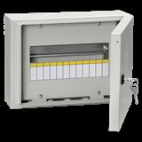Корпус навес металл ЩРН-12з-0 74 12мод IP54 (240x330x120) ИЭК MKM11-N-12-54-Z