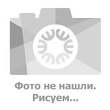 Накладка 2-х клавишная BOLERO с подсветкой, серебро