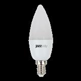 Лампа LED E14 11Вт 4000К 230В C37 матовая Jazzway