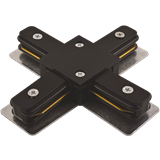 Коннектор PTR CX-BL X-образный черный IP40 однофазный .5010871 JAZZWAY
