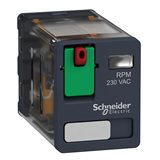 Реле Zelio Relay 2CO 230В AC RPM21P7 Schneider Electric