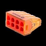 Клемма Werkel соединительная 8-проводная (5 шт.)