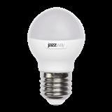 Лампа LED E27 11Вт 5000К 980Lm шар мат. Jazzway