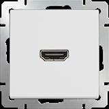 Розетка HDMI/ WL01-60-11 (белый) /a039265
