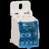 Распределительный блок на DIN-рейку РБД-80А (1х16/4х10+2x16) RBD-80