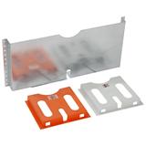 Карман для документов металлический для двери OptiBox M-700 258880 КЭАЗ